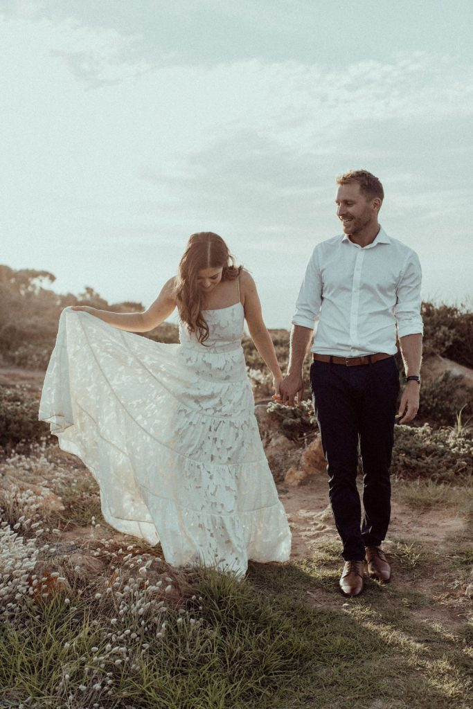 Yallingup elopement photographer Margret river Dunsborough photographer